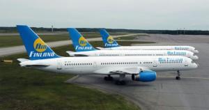 Three Air Finland 767s