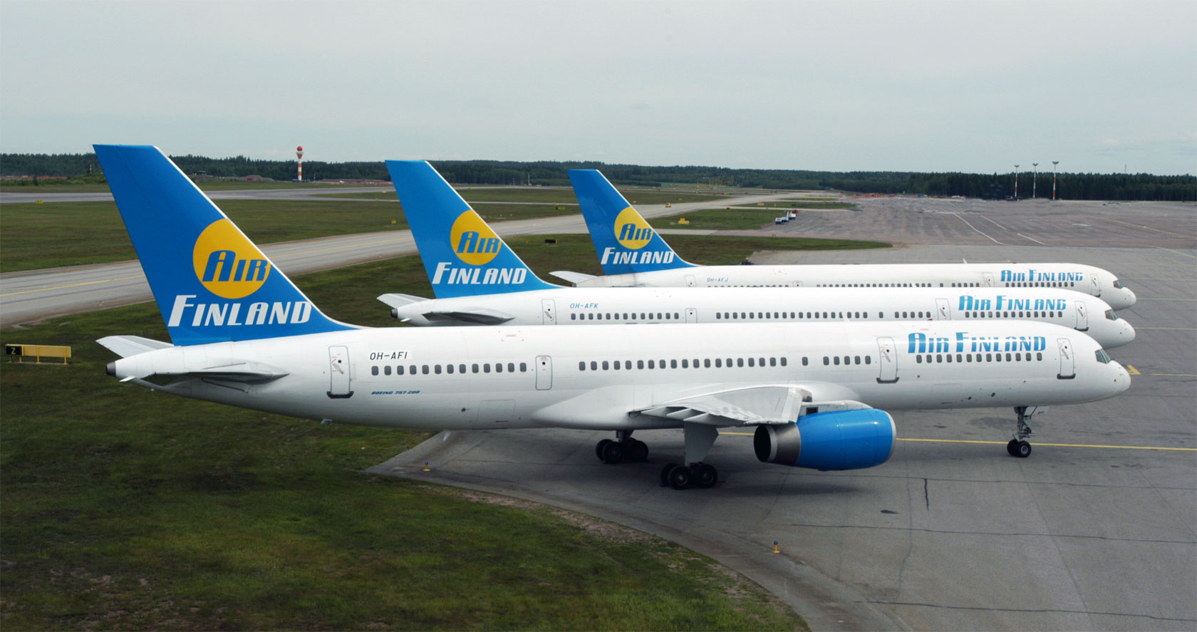 Air Finland Stops Oper...