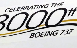 8000th Boeing 737 Artwork