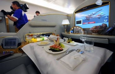 Airbus A380 first class cabin