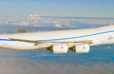 The Boeing 747-8
