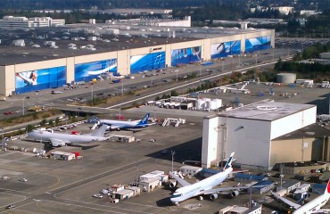 The Boeing Everett Factory
