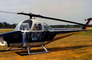 "Cessna CH-1 ""Skyhook"" Helicopter"