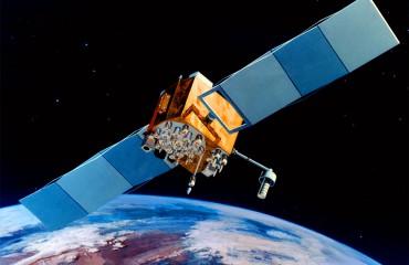 Artist's impression of a Block IIF GPS satellite.  Credit: USAF.