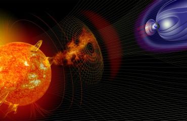 Solar Flare Diagram