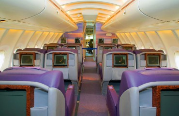 The Upper Deck on a Boeing 747